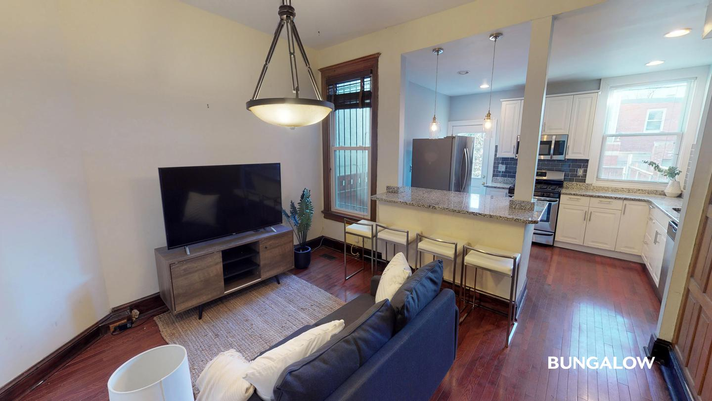 Apartments Near GWU Private Bedroom in Wonderful  Bloomingdale Home With Spacious Backyard for George Washington University Students in Washington, DC