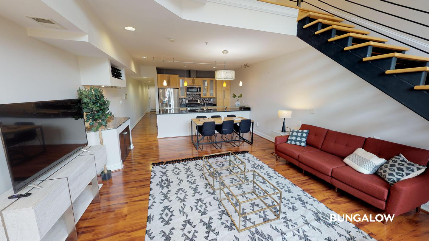 Apartments Near Bennett Career Institute Private Bedroom in Breathtaking Eckington Apartment Near The Red Line for Bennett Career Institute Students in Washington, DC