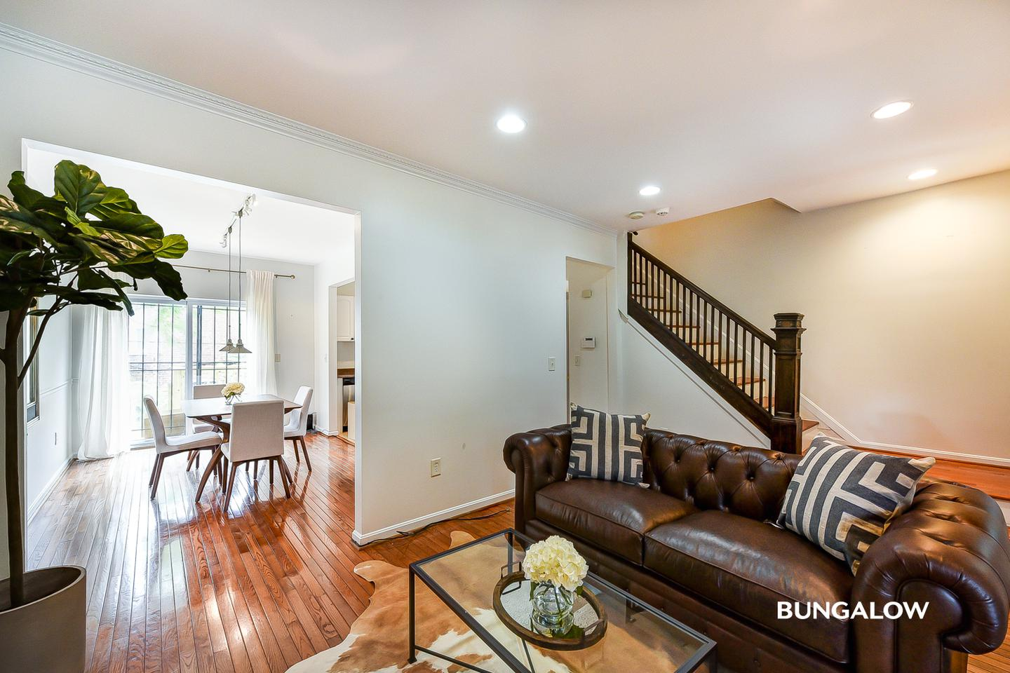 Apartments Near UDC Private Bedroom in Gorgeous Columbia Heights Townhome With Charming Backyard for University of the District of Columbia Students in Washington, DC