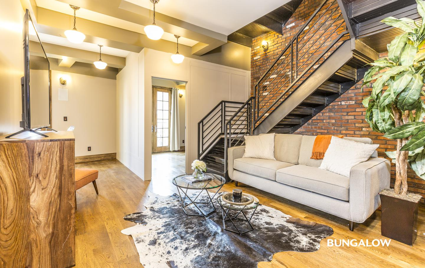 Apartments Near Baruch Private Room in Gorgeous Williamsburg Triplex with Private Terrace for Bernard M Baruch College Students in New York, NY