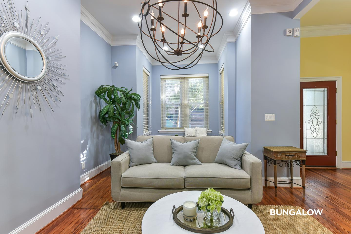 Sublets Near GWU Private Bedroom in Stylish Logan Circle Townhome With Sunny Backyard for George Washington University Students in Washington, DC