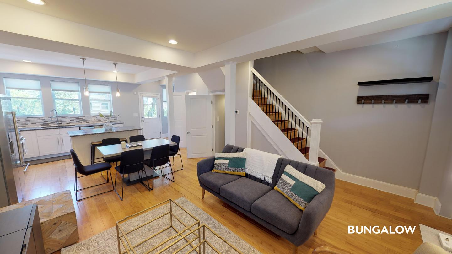 Apartments Near CUA Private Room in Delightful H St Corridor Townhouse with Backyard for Catholic University of America Students in Washington, DC