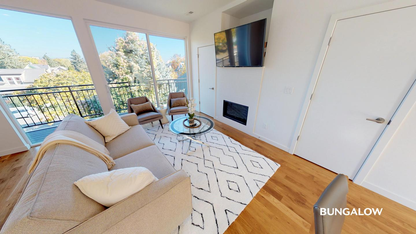 Apartments Near PSU Pet friendly | Private Room in Contemporary Piedmont Townhome with Scenic Views for Portland State University Students in Portland, OR