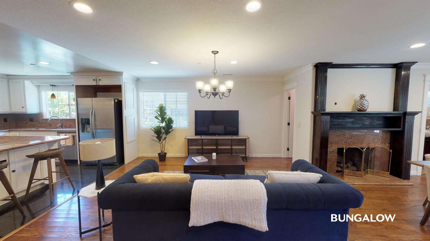 Apartments Near Cal State East Bay Private Bedroom in Updated Redwood City Home With Brick Patio for California State University-East Bay Students in Hayward, CA