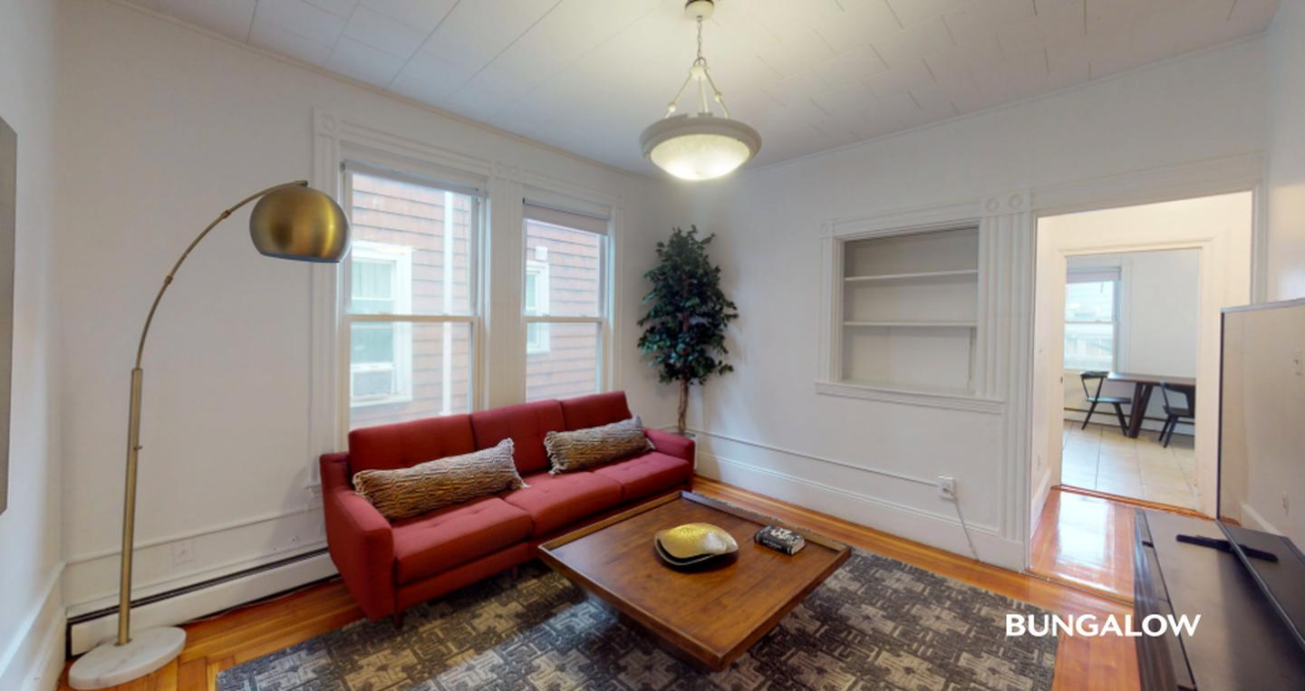 Sublets Near ENC Private Bedroom in Spacious Dorchester Apartment with Back Porch for Eastern Nazarene College Students in Quincy, MA