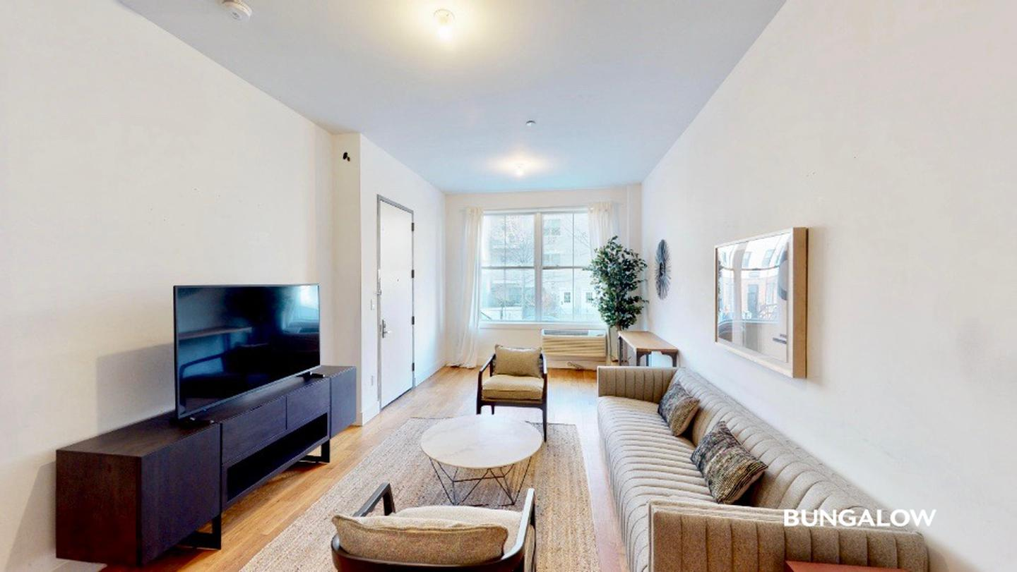 Sublets Near NYU Private Bedroom in Modern Williamsburg Duplex With Backyard Lounge for New York University Students in New York, NY