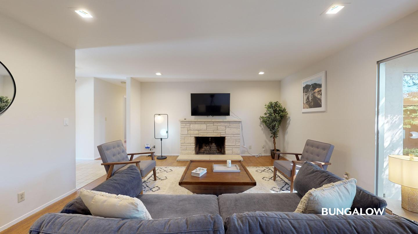 Apartments Near De Anza Private Bedroom in Bright Mountain View Home With Spacious Backyard for De Anza College Students in Cupertino, CA