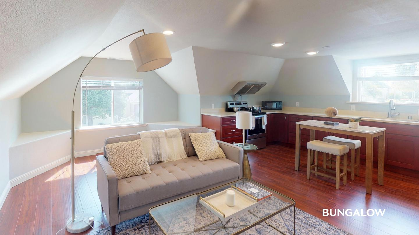 Apartments Near NDNU Private Bedroom in Lovely San Mateo Home Near Caltrain Station for Notre Dame de Namur University Students in Belmont, CA