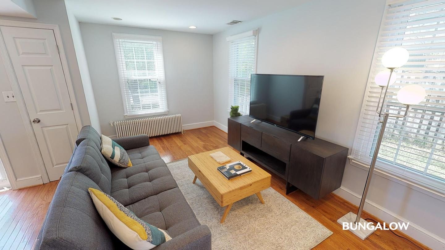 Apartments Near GMU Private Bedroom in Beautiful Arlington Home With Charming Backyard for George Mason University Students in Fairfax, VA