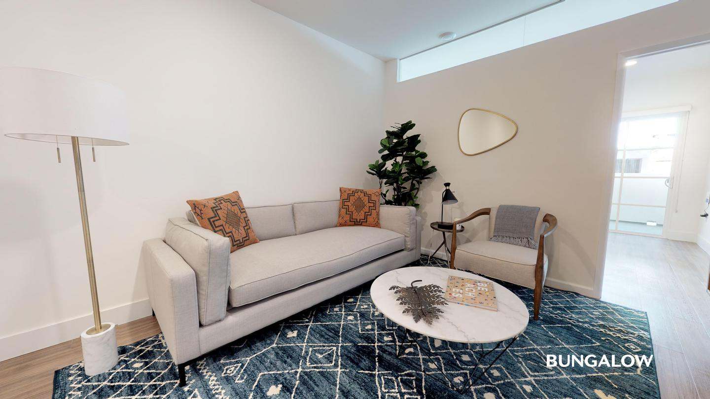 Sublets Near PCC Private Room in Elegant Hollywood Apartment With Rooftop Patio for Pasadena City College Students in Pasadena, CA